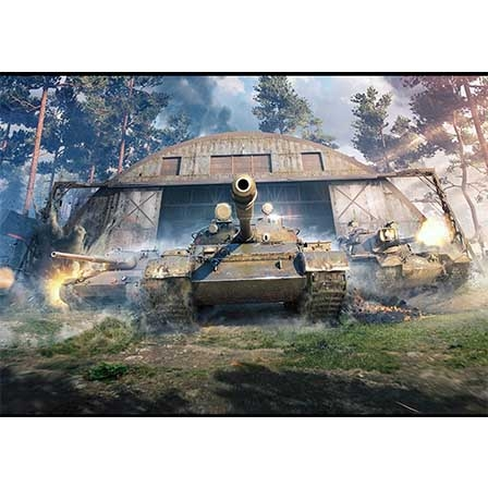 Постер «World of Tanks» #01
