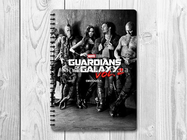 Скетчбук – «Guardians of the Galaxy / Стражи Галактики» #01